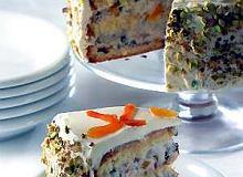 Cassata (włoskie ciasto z owocami) - ugotuj