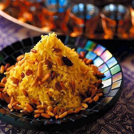 Pilaw - ry� w orientalnym stylu