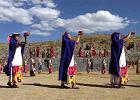 Ludzie z gór ściągają do Cuzco