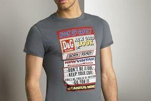 T - shirt jak ulotka?