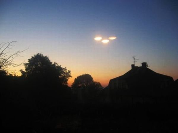 UFO koło Krakowa (fot. Beata/Alert24)