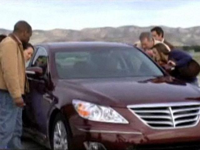 Hyundai - kadr z kontrowersyjnej reklamy
