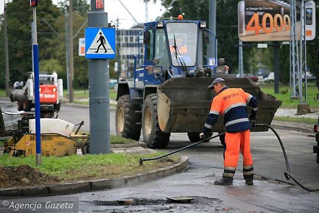 W weekend remonty ulic: na Ursynowie i na Bielanach