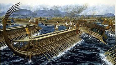 Współczesna rekonstrukcja bitwy pod Salaminą