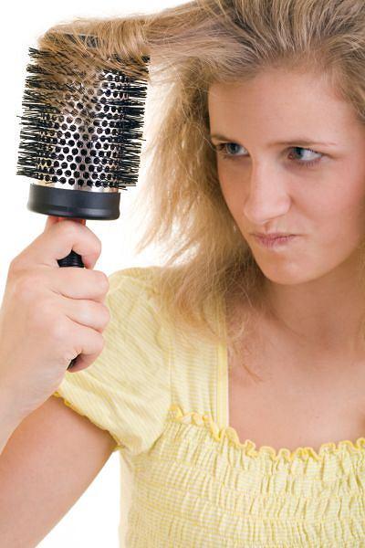 Zadbaj o suche włosy