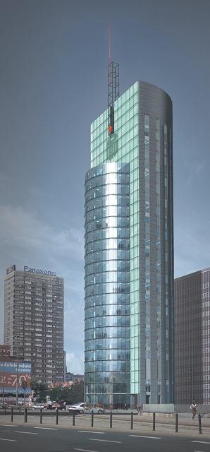 Andrzej Wyszyński z pracowni MWH Architekci też uważa, że bank w Rotundzie to pomyłka. Nawet w wieżowcu, który na miejscu pawilonu projektował dla PKO BP, niższe kondygnacje chciał przeznaczyć na usługi