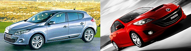 Renault Megane i Mazda 3