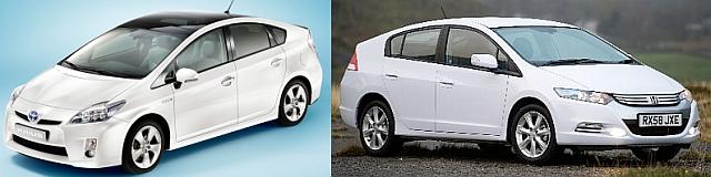 Toyota Prius i Honda Insight