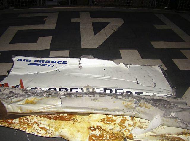 Wyłowione szczątki Airbusa 330
