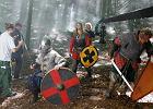 Kręcili film o wikingach w Puszczy Bukowej