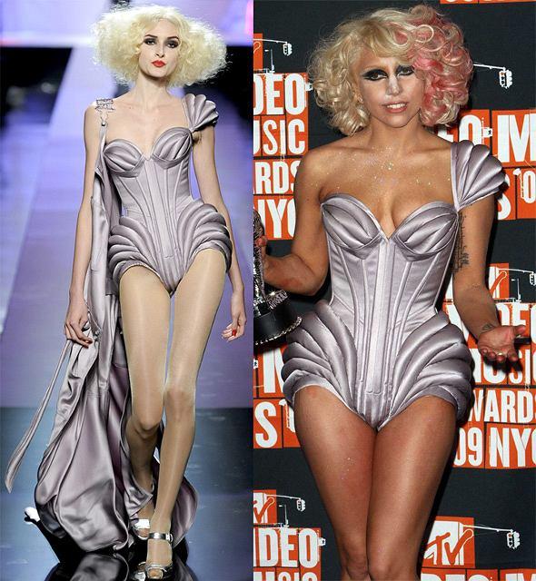 Lady Gaga w kracji Jeana Paula Gaultier