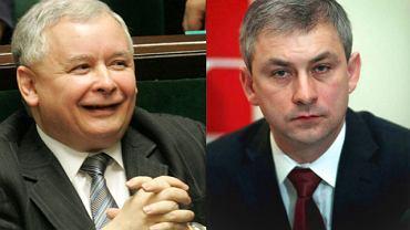 Jarosław Kaczyński i Grzegorz Napieralski