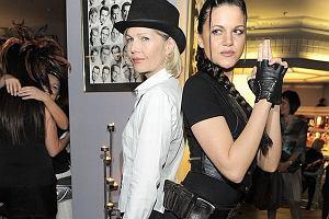 Lara Croft? Nie to tylko Dominika Gaw�da na imprezie Sabat Czarownic 2009. Jak podoba wam si� w tej stylizacji?