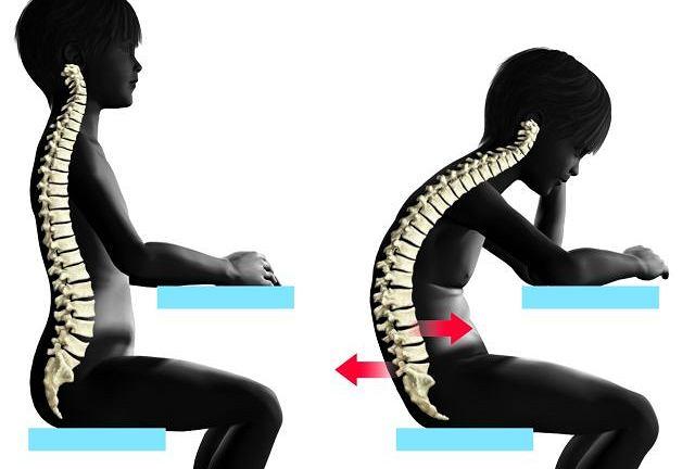 Plecy powinny być wyprostowane i oparte o krzesło. Przedramiona wsparte na podłokietnikach, a nadgarstki - na pulpicie