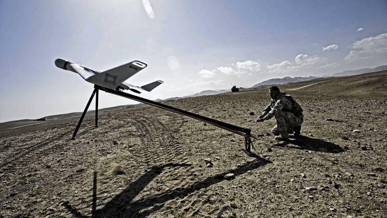 Samolot bezzałogowy Orbiter, używany przed polską armię w Afganistanie