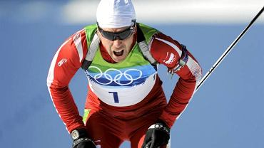 Tomasz Sikora podczas igrzysk w Vancouver