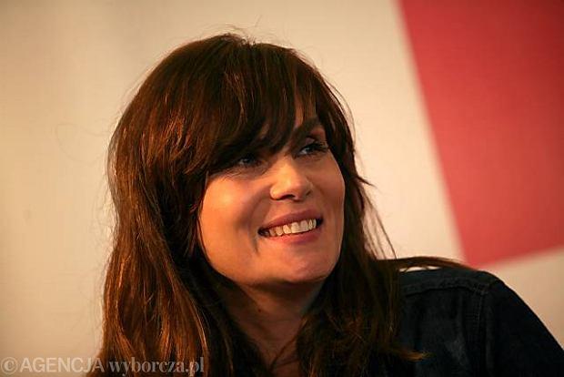 Emmanuelle Seigner w Cafe Gazeta [WIDEO]