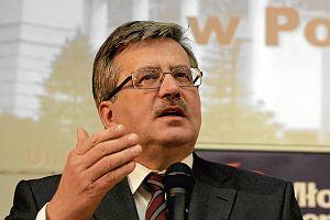 Wybory 2010. Komorowski: Podpisz� ustaw� o parytetach