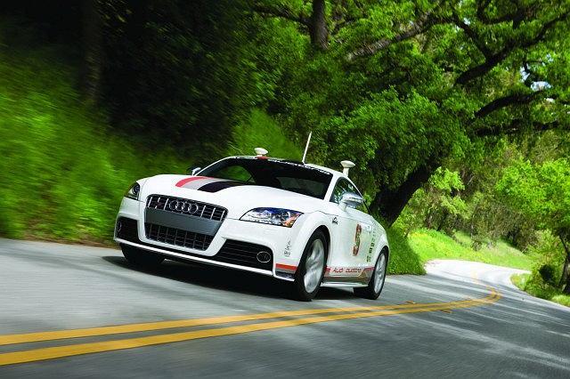Zrobotyzowane Audi TTS