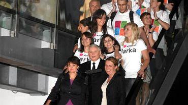 Jarosław Kaczyński po debacie wyborczej