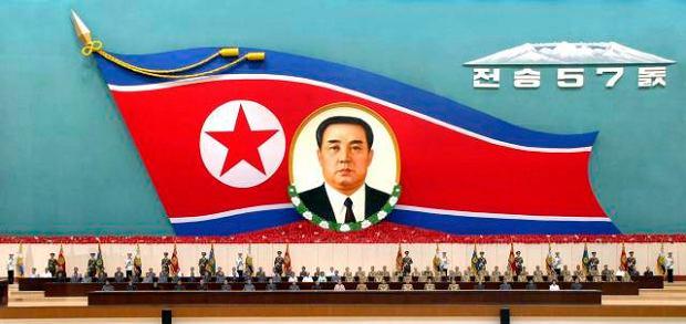 Korea Północna świętuje dzisiaj 57. rocznicę zwycięstwa w Wojnie Koreańskiej, 2010 r.