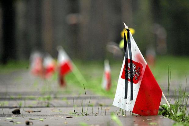 Katy�, groby polskich oficer�w