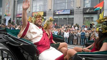 Winobranie 2009, bóg wina - Bachus