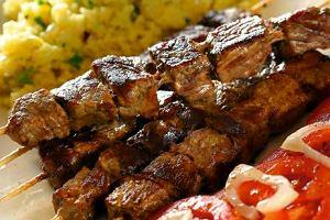 Kebab na szpadkach