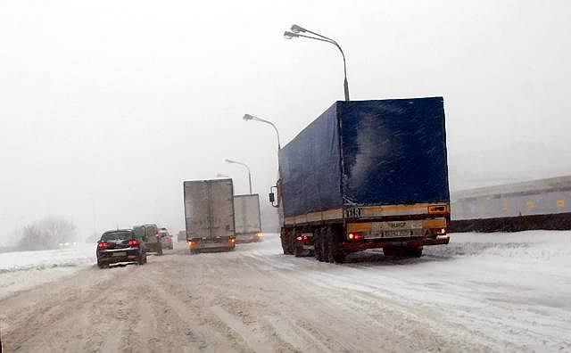 Opady śniegu sparaliżowały Lublin