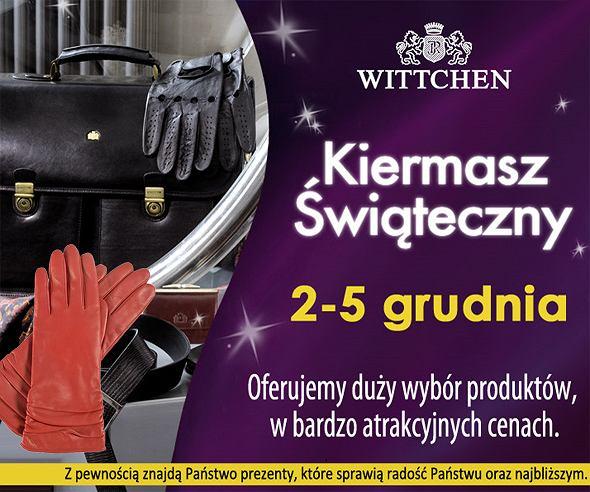 Od dzisiaj �wi�teczny Kiermasz Wittchen!