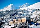 Szwajcaria. Luksusowy �nieg w Sankt Moritz