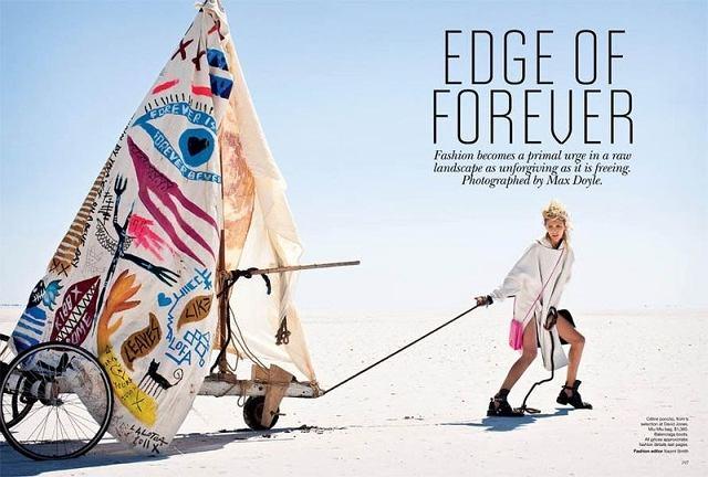 Zdjęcie numer 11 w galerii - Anja Rubik w Vogue Australia