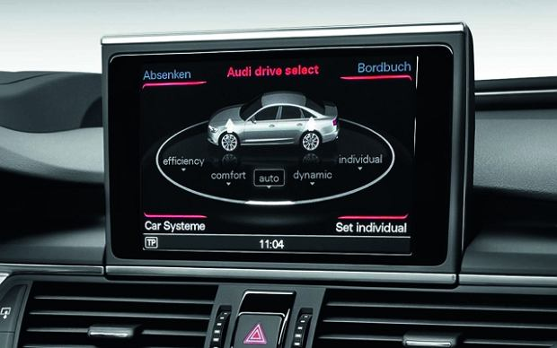 technika w nowym audi a6 system mmi navigation plus zdj cie nr 2. Black Bedroom Furniture Sets. Home Design Ideas