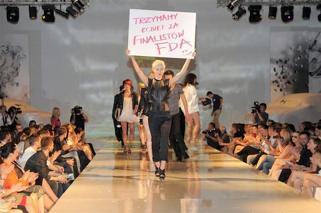 finał 3 edycji Fashion Designer Awards - Pokaz Essential Look by Schwarzkopf