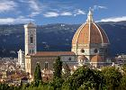 Widok na florenck� katedr� Santa Maria del Fiore