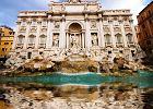 Rzym zabytki - Fontanna di Trevi, W�ochy