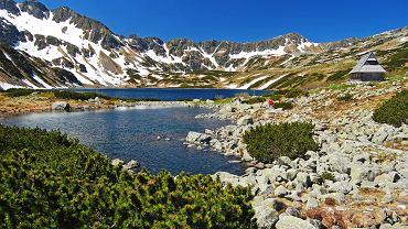 Wiosna w Tatrach, Dolina Pięciu Stawów