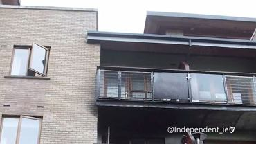 To na ten balkon wspinał się bohaterski Polak