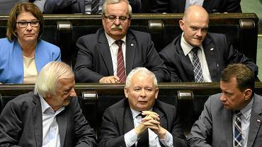 Debata i głosowania, m.in. nad PiS-owską ustawą o KRS. Warszawa, 45. posiedzenie Sejmu VIII kadencji, 12 lipca 2017 r.