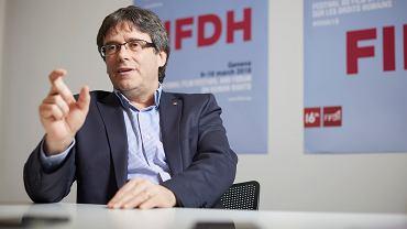 Interview de Carles Puigdemont