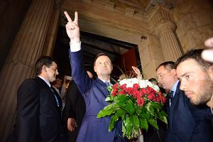 Wybory prezydenckie. Oficjalne wyniki cz�stkowe. Duda nokautuje w Polsce wschodniej