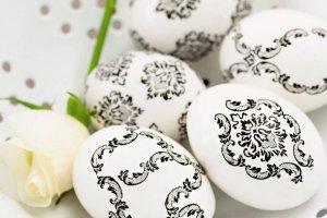 Wielkanoc: drewniane pisanki