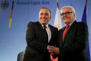 Steinmeier o Polsce: Nasze kraje mog� ponosi� odpowiedzialno�� za ca�� Europ�