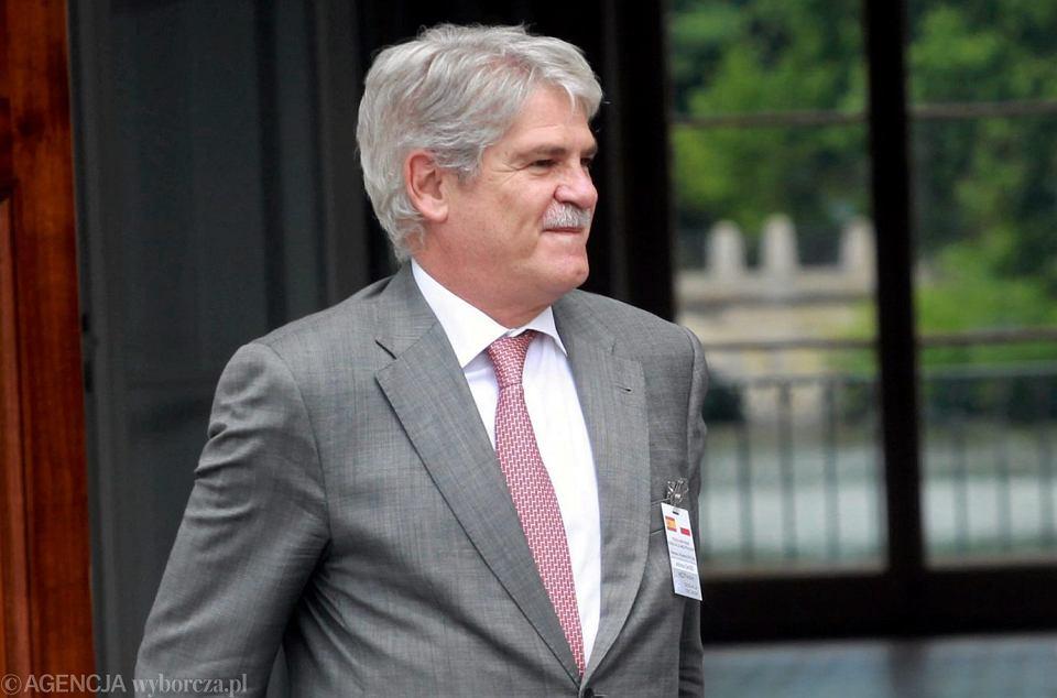 Szef hiszpańskiego MSZ Alfonso Dastis