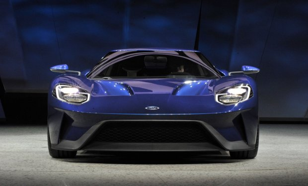 The all-new Ford GT was introduced to journalists from around the world at the North American International Auto Show, January 12, 2015.