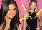 Selena Gomez i anio�ek Victoria's Secret w takich samych kreacjach. Wygl�da�a gorzej, wi�c si� przebra�a. A na twarzy... Wiemy, co si� zmieni�o