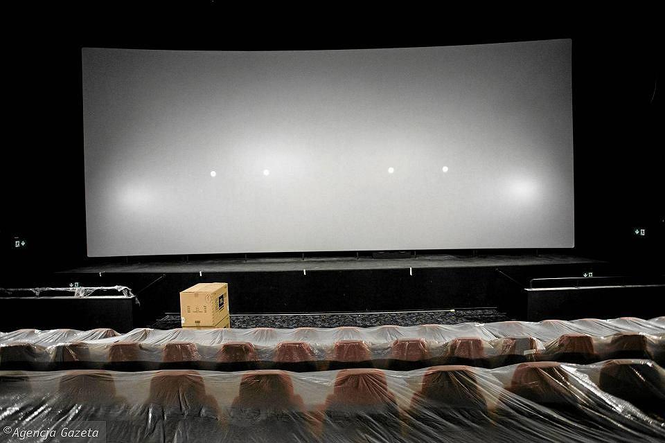 Ostatnie prace nad wyposażeniem kina w Galerii Północnej / Adam Stępień/Agencja Gazeta