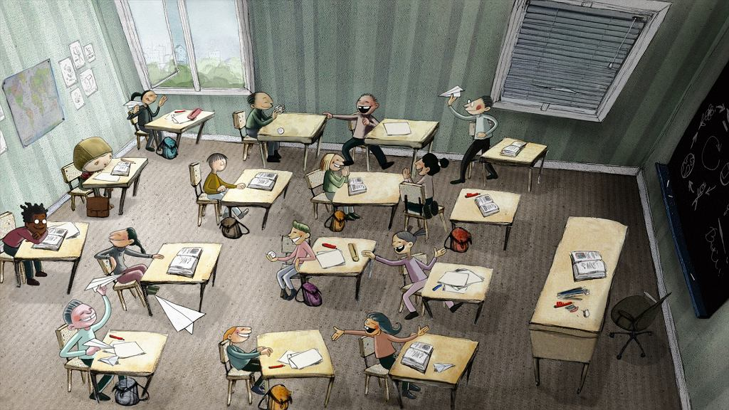 Kadr z filmu 'Chłopiec w skorupce' / nowe horyzonty