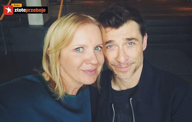 Marzena Rogalska i Kacper Kuszewski w programie 'Rogalska od Kuchni'