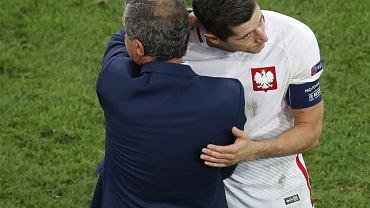 Ronaldo przemkn�� przez stref� wywiad�w. Nagle widzi Lewandowskiego...